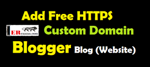 How to Add Free HTTPS For Custom Domain Blogger Blog (Website)