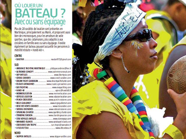 Liste des locations de bateaux Catamaran en Martinique
