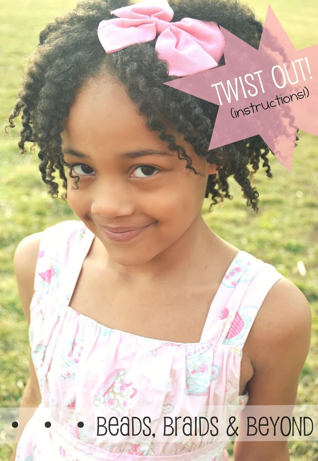 Phenomenal Beads Braids And Beyond Little Girls Natural Twist Out Step By Hairstyles For Men Maxibearus