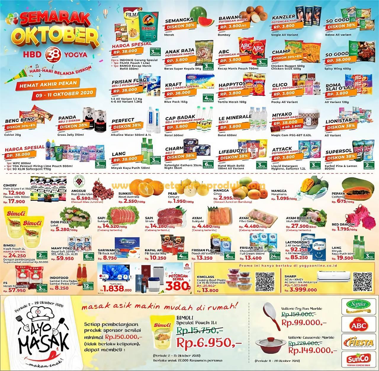 Katalog Promo Toserba Yogya Weekend Periode 9 - 11 Oktober
