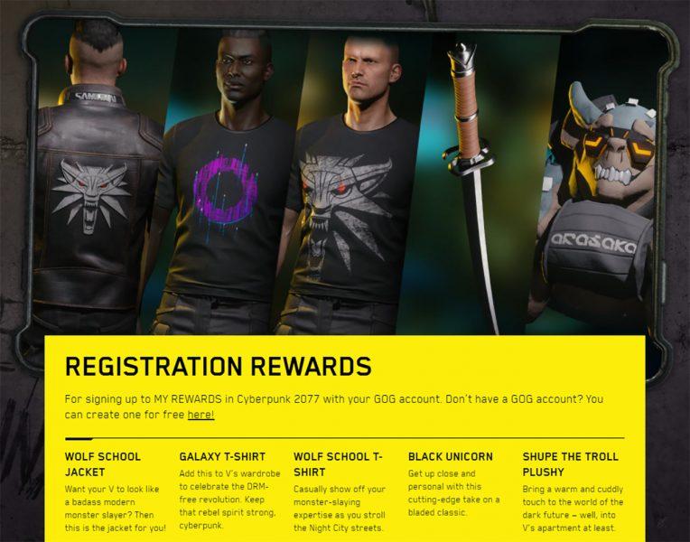 How to claim Cyberpunk 2077 pre-order bonuses