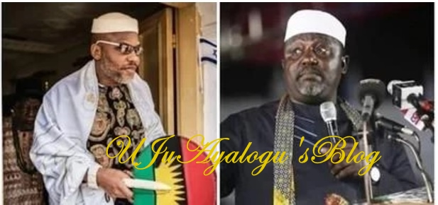 Governor Okorocha drops bombshell, reveals why Nnamdi Kanu cannot lead the Igbo nation