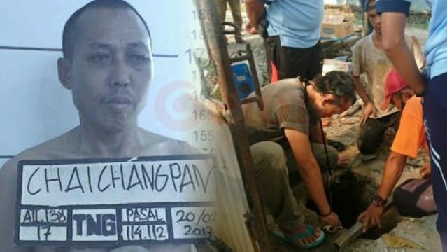 Obeng-Besi Ditemukan di Sel Napi WN China yang Kabur dari Lapas Tangerang
