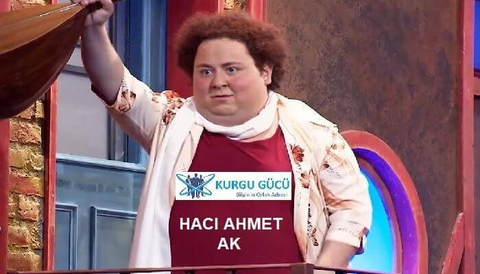 Hacı Ahmet Ak Çghb 2 Altyapı - Kurgu Gücü