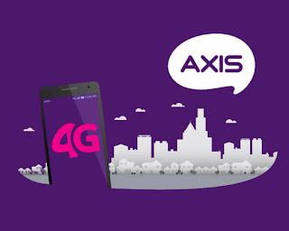 Cara Setting APN Axis 4G LTE Terbaru Juni 2018 Tercepat