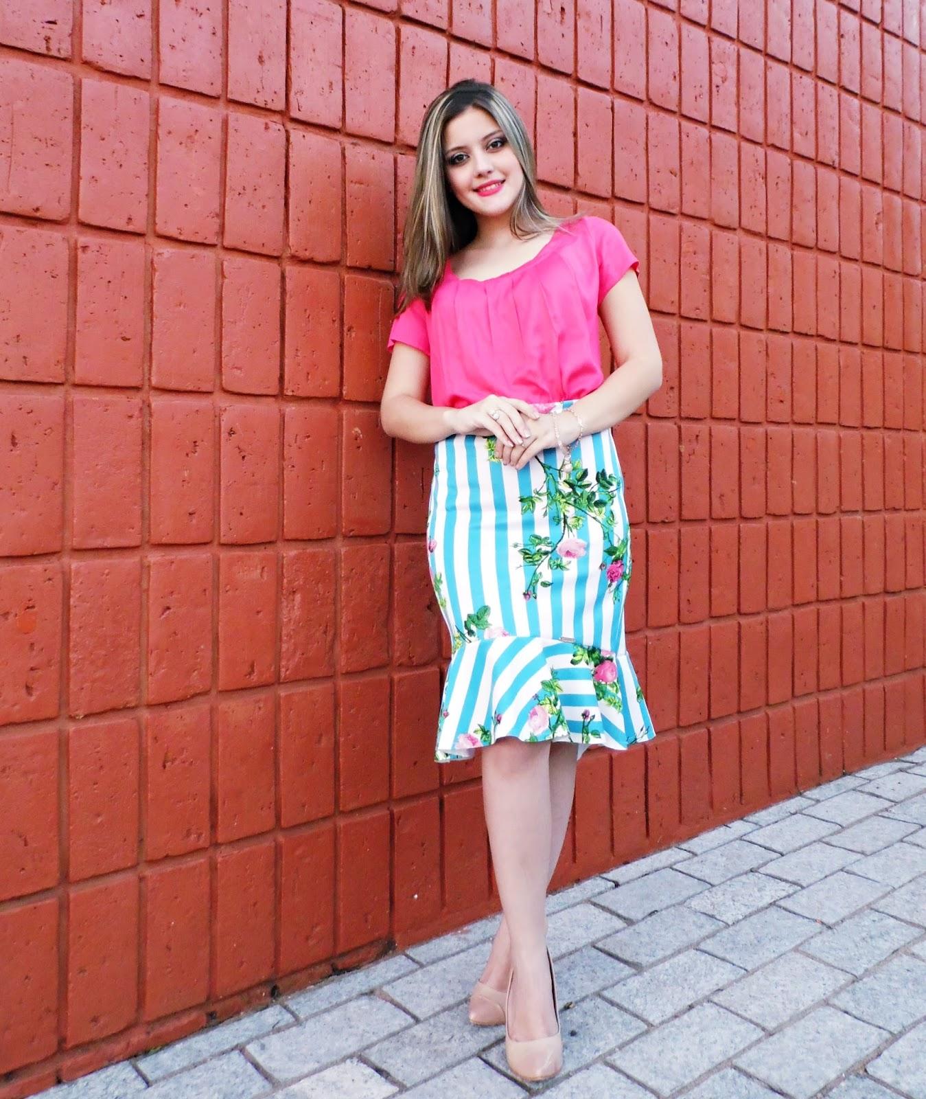 2e5957ad9f1 Blog da Lari  Look do Dia  Conjunto Flávia - Moda Enncante