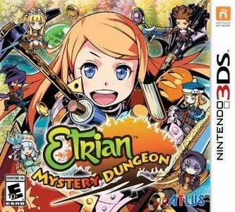 Rom Etrian Mystery Dungeon 3DS