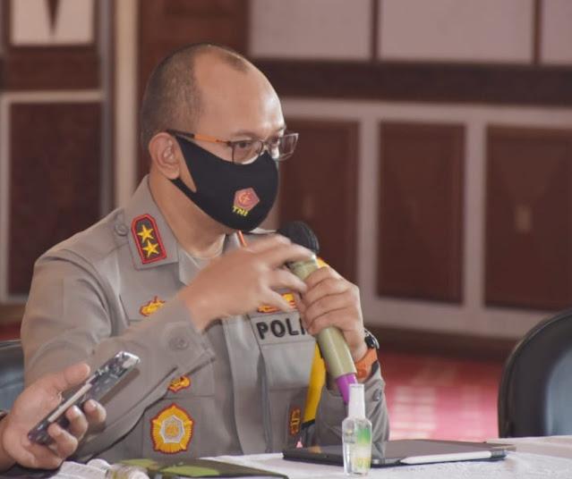 Pimpin Rapat Internal, Kapolda Jambi : Netralitas Polri dalam Pemungutan Suara Ulang (PSU)