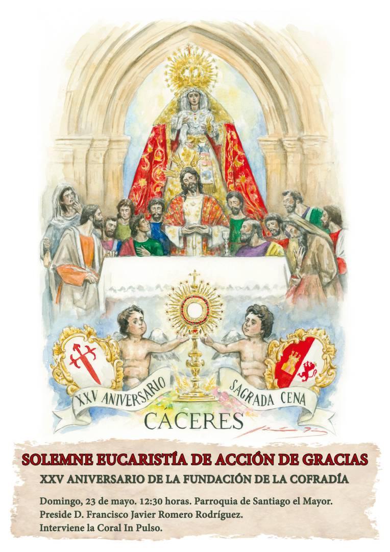 Eucaristía del XXV Aniversario de la Cofradía
