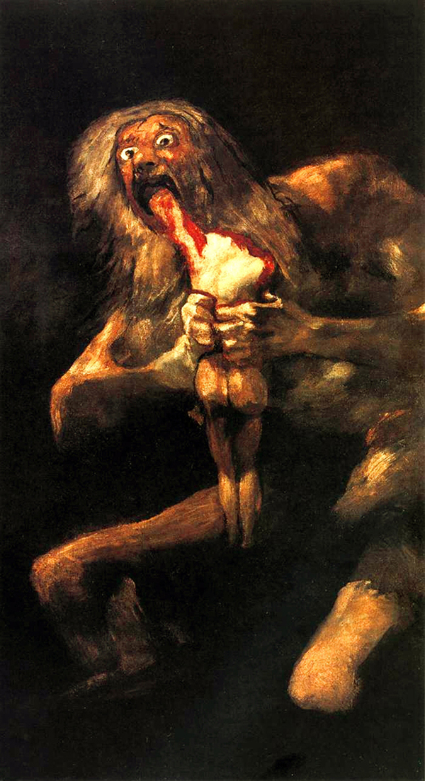 Francisco de Goya, Macabre Art, Macabre Paintings, Horror Paintings, Freak Art, Freak Paintings, Horror Picture, Terror Pictures