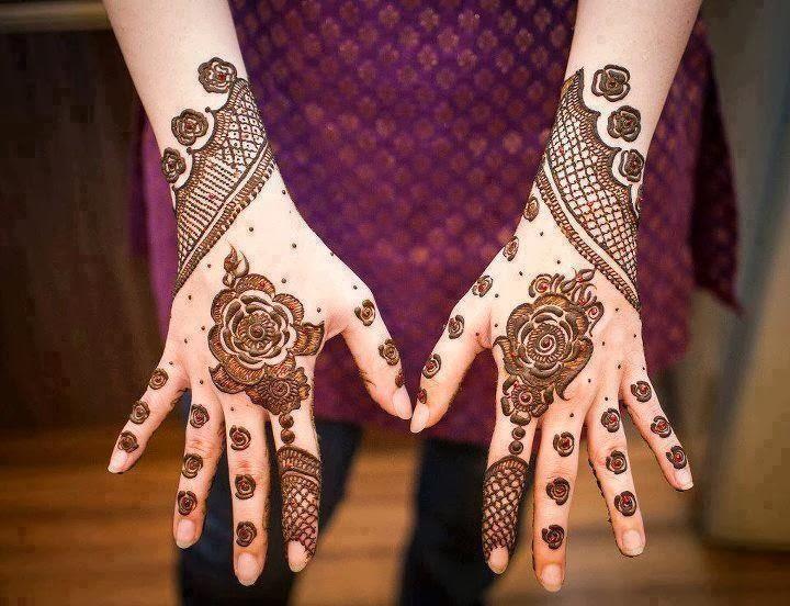Full Hand Mehndi Designs For Brides From Winter Season