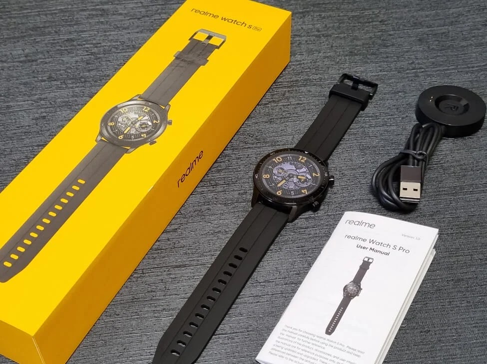 realme Watch S Pro Retail Package