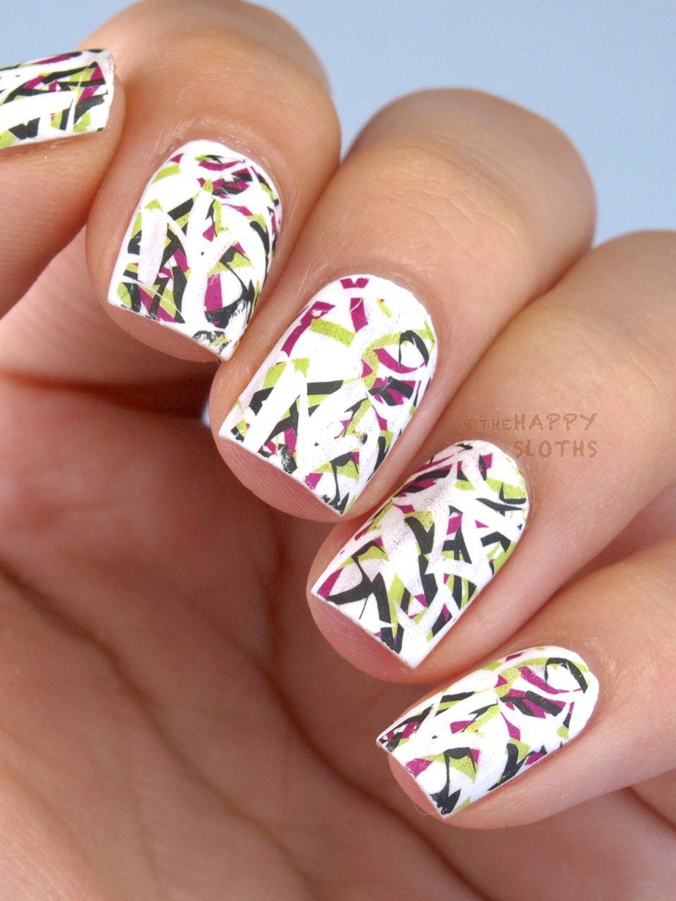 Cni nailart manicure nail desige hand arms cniart summer ...