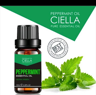 Essential Oil peppermint manjur