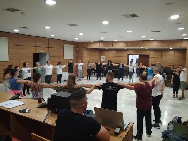 Τμήματα εκμάθησης κρητικών χορών από την Ένωση Κρητών Αργολίδας