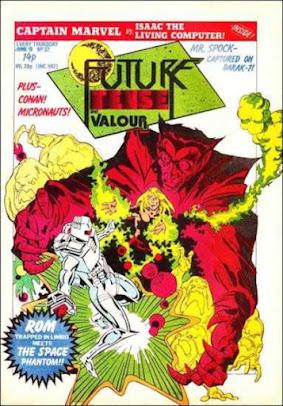 Future Tense and Valour #32, ROM
