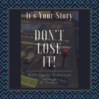 It's your story - Don't lose it!, #WDAVH2016