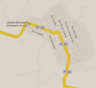 Google Maps Rosário do Ivaí