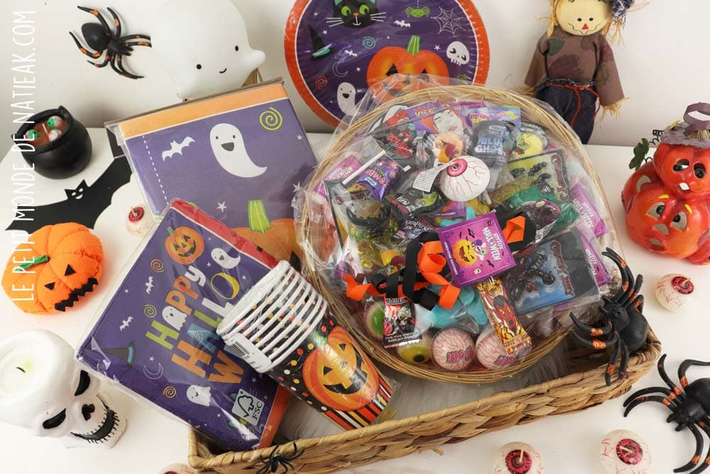 Kit de goûter Halloween Génération souvenirs