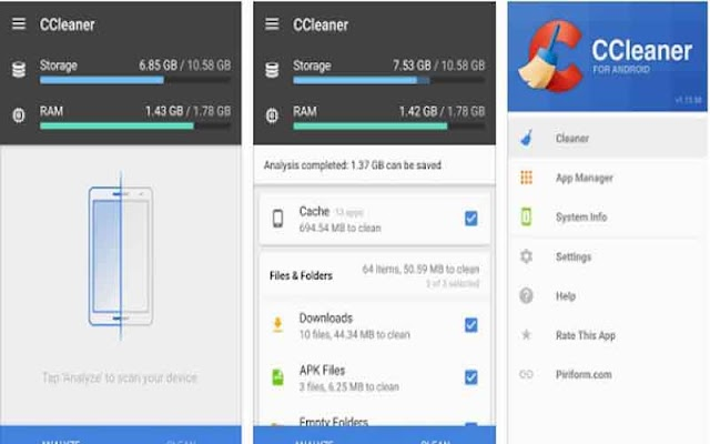 CCleaner Professional 4.15.1 Apk + MOD (Premium/Unlocked) For Android