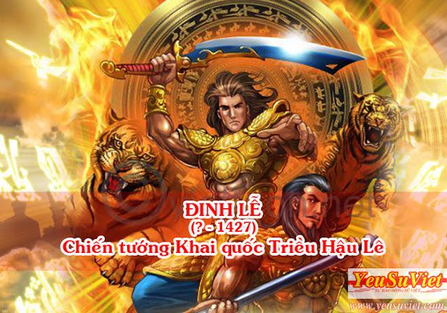 lịch sử việt nam, history of vietnam, yêu sử việt, đinh lễ, lê thái tổ, khởi nghĩa lam sơn
