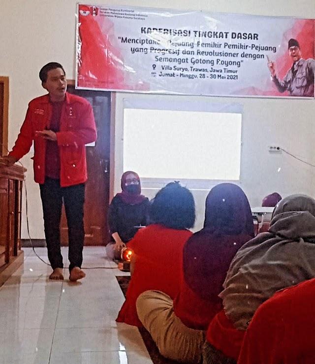 GMNI Wijaya Kusuma Surabaya Mencetak Kader Yang Militansi Dengan Semangat Progresif Revolusioner