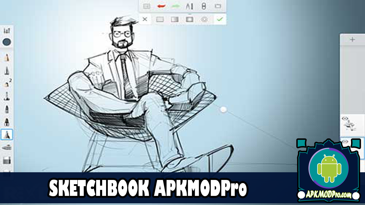 Download Autodesk SketchBook Pro v5.1.5 Mod apk (Full Unlocked ) Terbaru 2020