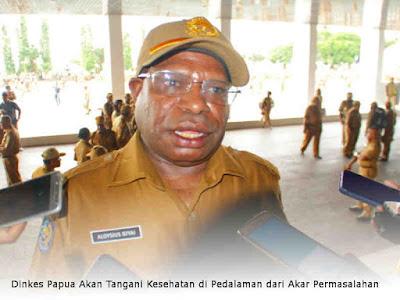 Dinkes Papua Akan Tangani Kesehatan di Pedalaman dari Akar Permasalahan