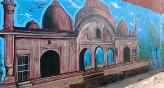 बुरहानपुर का भव्य इतिहास ऐतिहासिक परकोटे पर उकेरा, सिटी ऑफ वाल पर दिखेंगे ऐतिहासिक स्थल