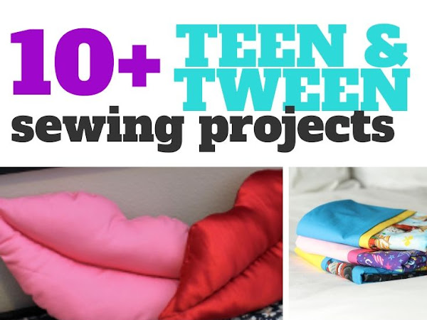 10+ Simple Sewing Projects for Teens and Tweens