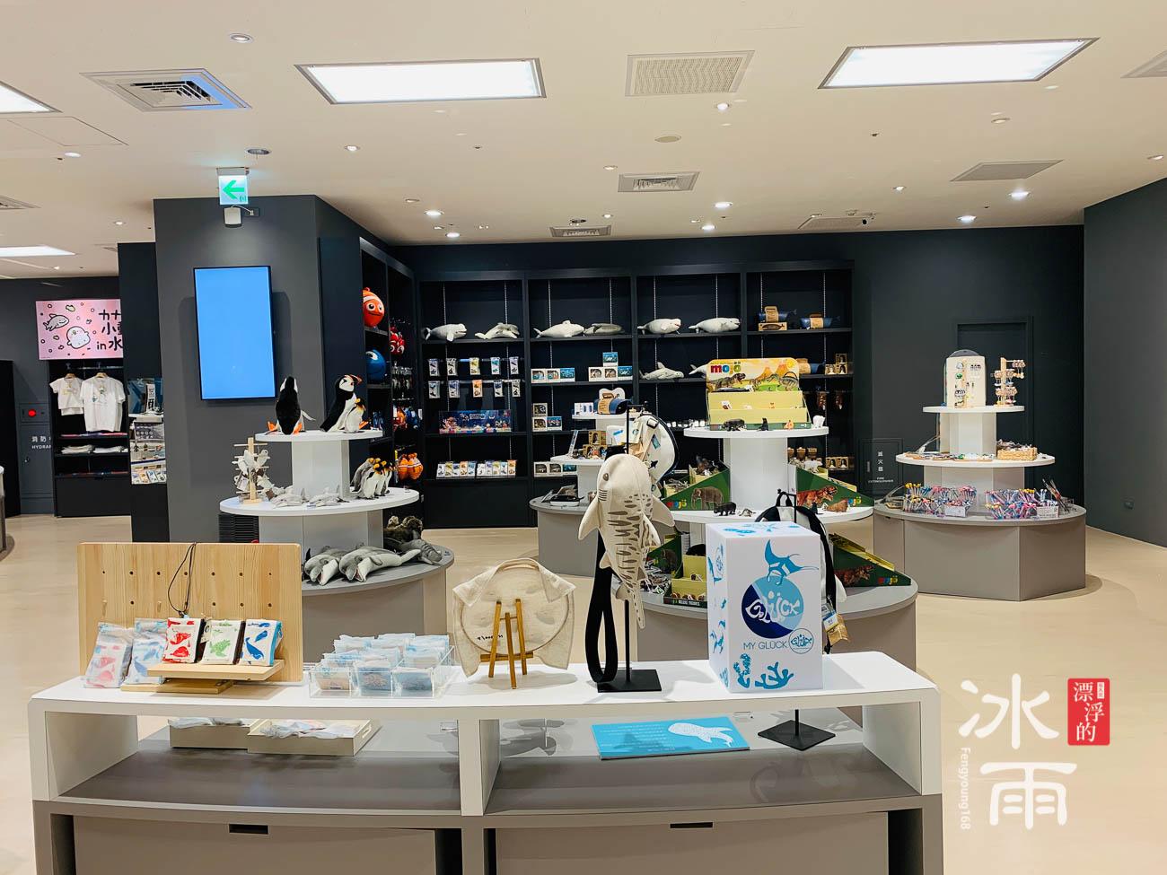 X fun|Xpark水族館禮品專賣店|店內一景