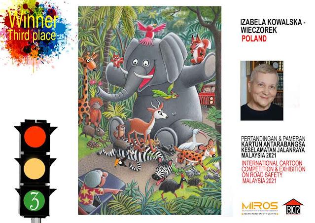 Egypt Cartoon .. Third prize: Izabela Kowalska-Wieczorek - Poland