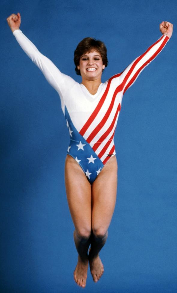 International Wallpaper: Mary Lou Retton gymnast and