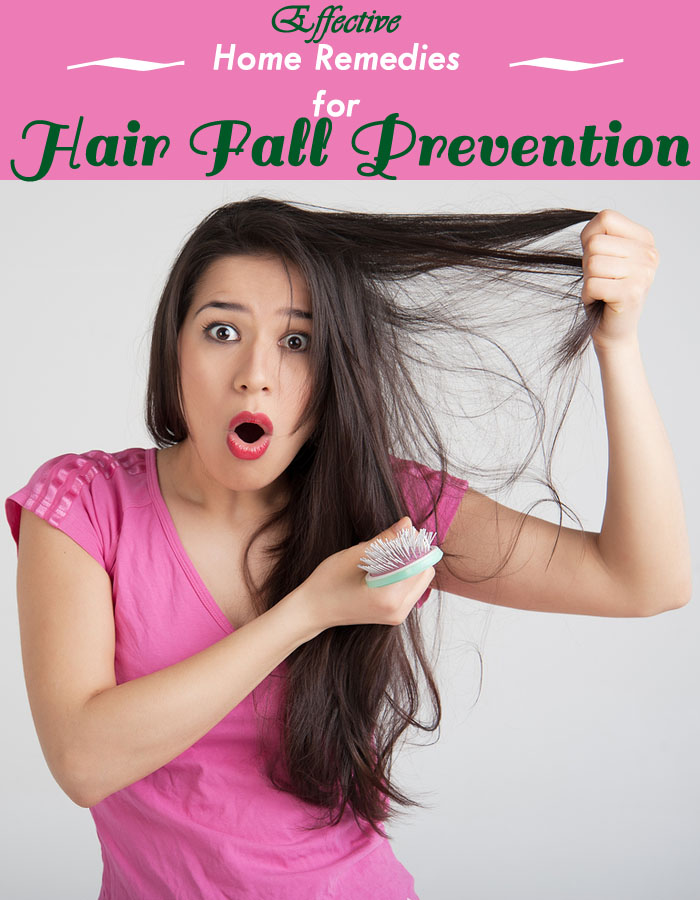 Effective Home Remedies for Hair Fall Prevention