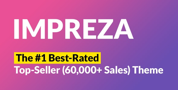 Impreza theme NULLED–Professional Template for WordPress
