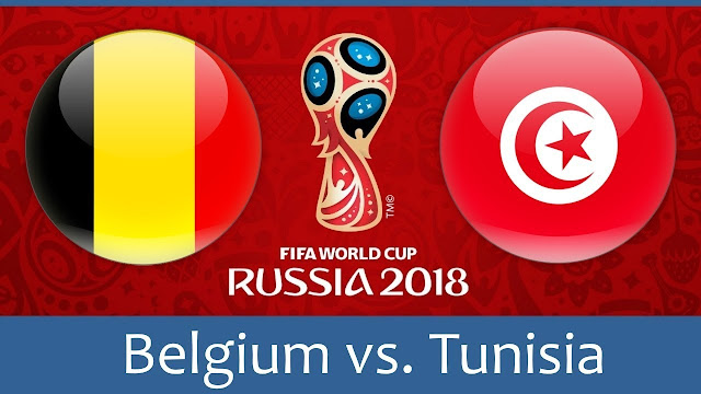 Belgium vs Tunisia Full Match Replay 23 June 2018