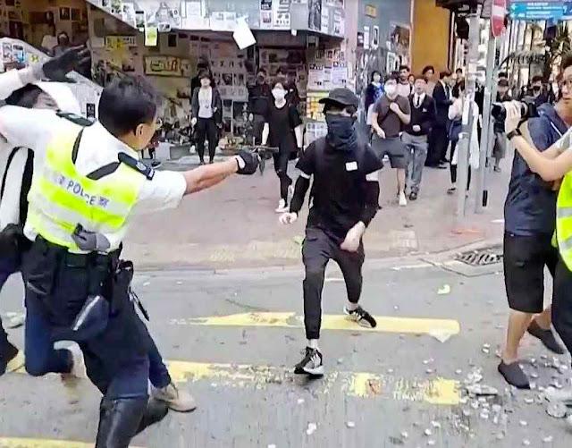 Policial dispara a queima-roupa contra estudante desarmado