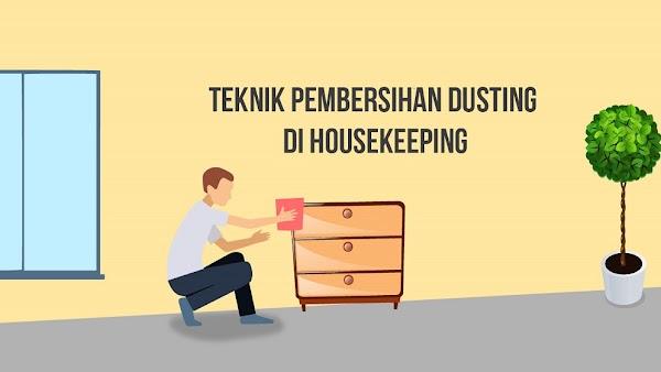 Teknik Pembersihan Dusting dalam Housekeeping
