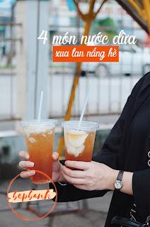 4 món nước dừa bán chạy hơn trà sữa