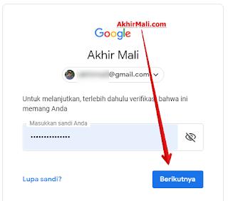 Kamu akan diminta untuk memverifikasi sebelum melanjutkan. Silahkan login dengan akun googlemu.