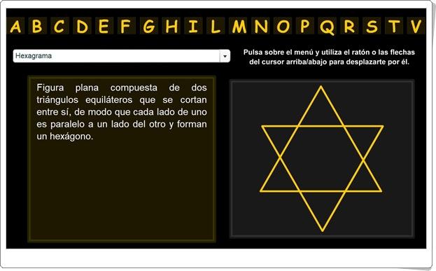 """""""Diccionario de Geometría Online"""""""