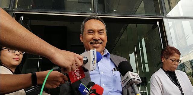 Dinyatakan Positif Corona, Anggota Dewas KPK Syamsuddin Haris: Mohon Doanya