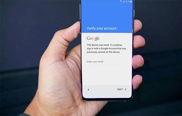 Google Account Verification on Blu Device