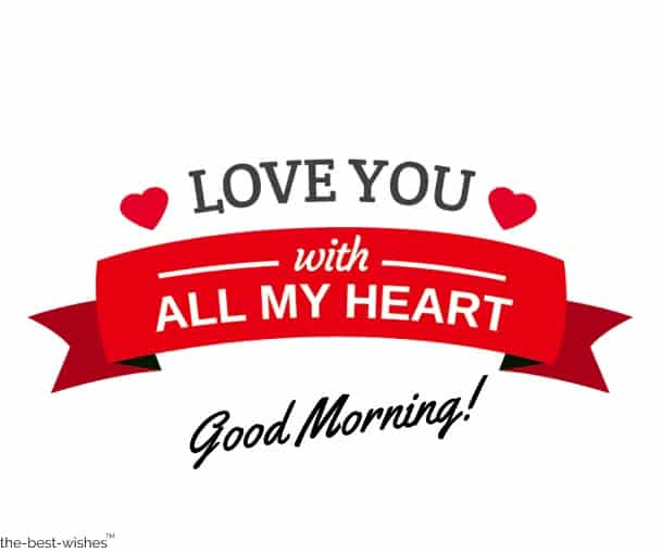 good morning love messages and images