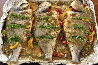 طريقة طبخ السمك البلطي