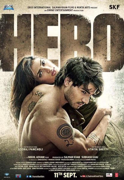 Poster of Hero 2015 Full Movie Hindi 720p DVDRip With ESubs Download