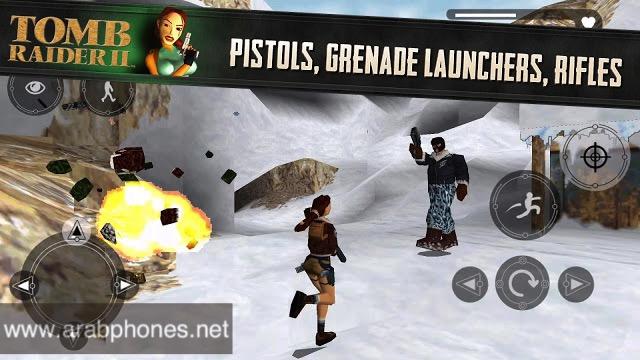تحميل لعبة  Tomb Raider 2 apk + obb للاندرويد مجانا