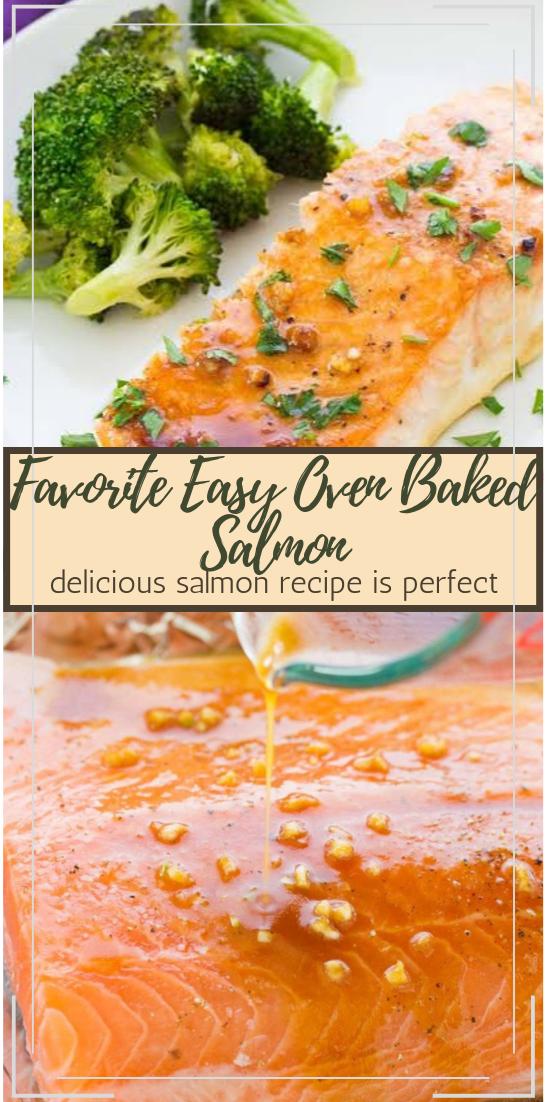 Favorite Easy Oven Baked Salmon #dinnerrecipe #food #amazingrecipe #easyrecipe