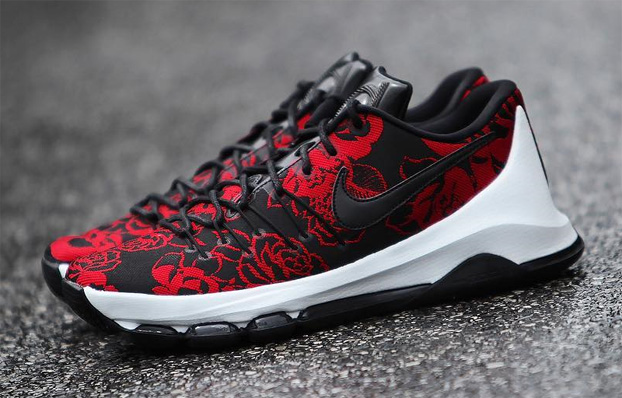 sports shoes 18434 0a511 The Nike KD 8 EXT Floral releases Saturday, May 7, at stateside retailers.  Nike.com and the SNKRS app will have them at 10am EDT 7am PDT. une paire de  nike