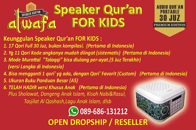 [HOT SALE] Speaker Murottal Al Quran FOR KIDS